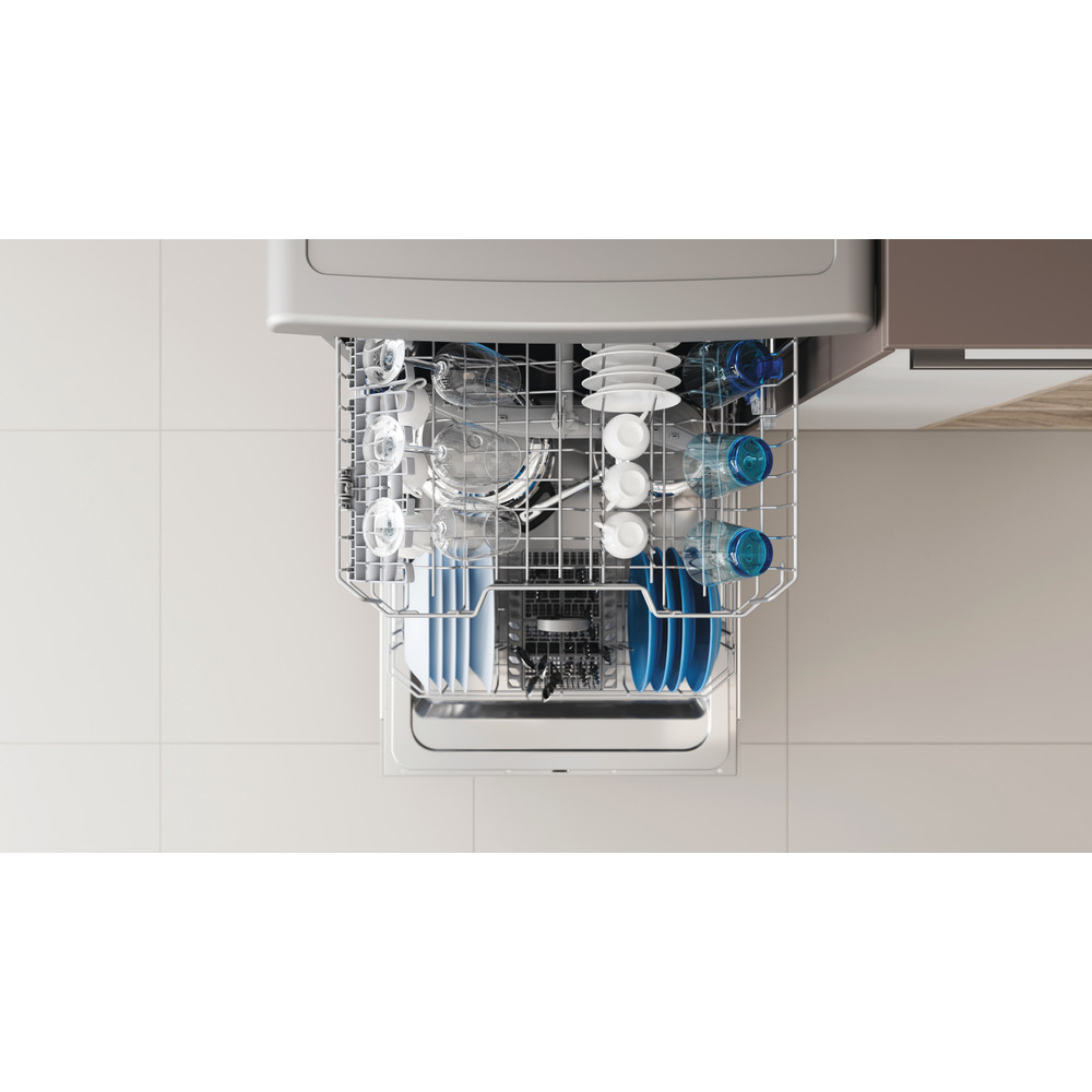 Indesit Dishwasher Free-standing DFE 1B19 X UK Free-standing F Lifestyle detail