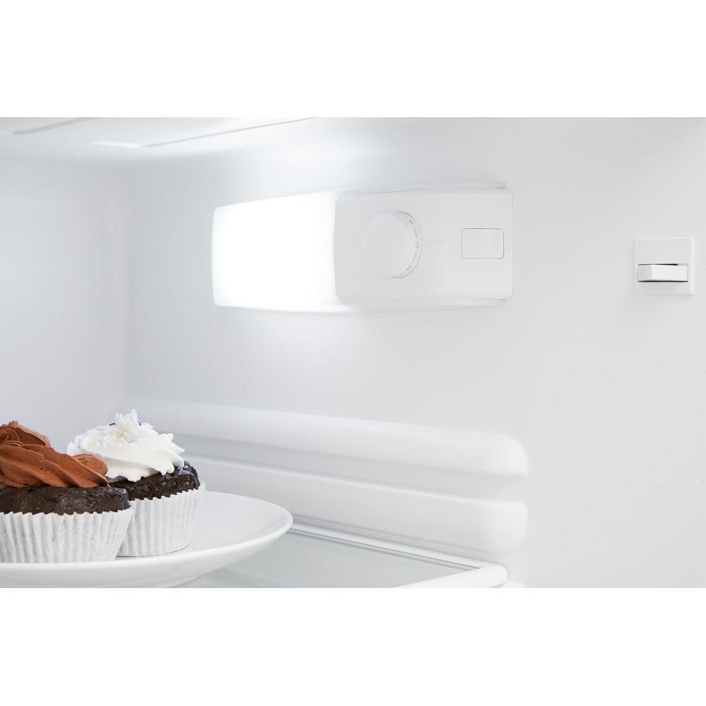 Indesit Combinación de frigorífico / congelador Libre instalación TIHA 17 V Blanco 2 doors Lifestyle control panel