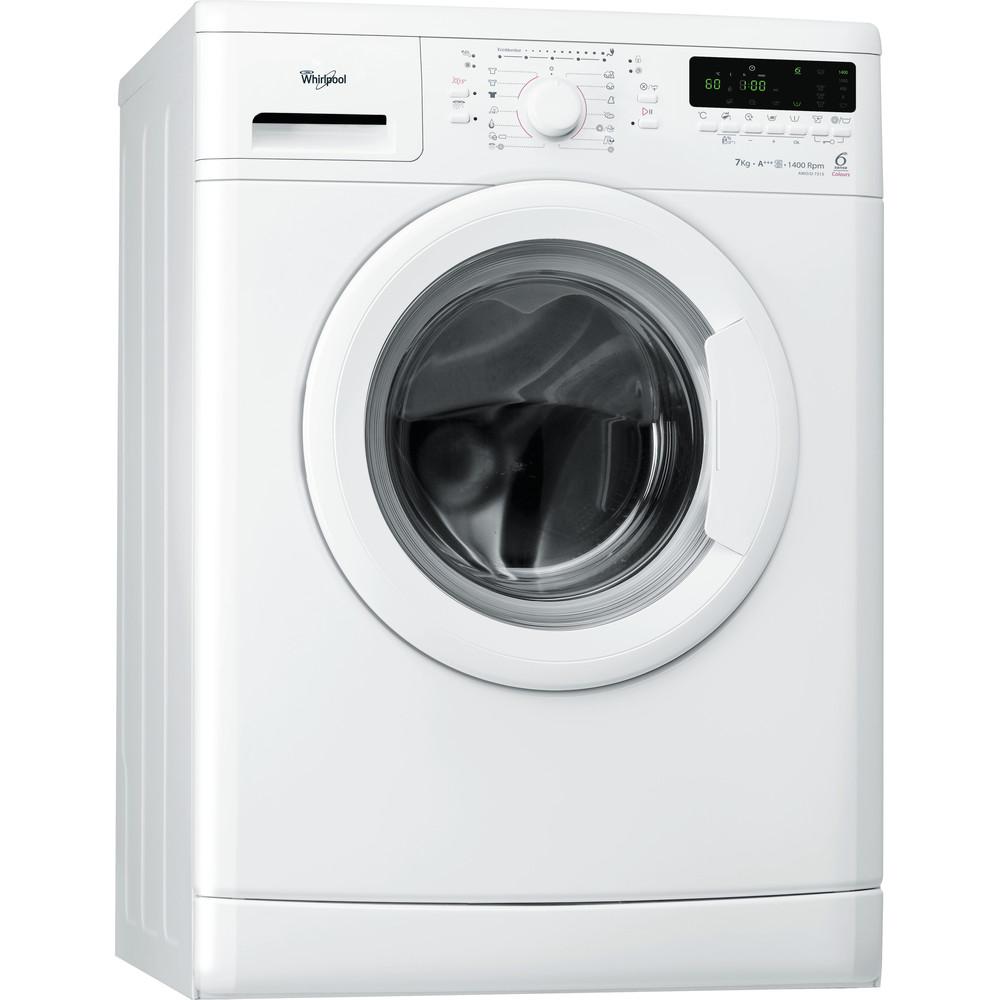 Whirlpool frontmatad tvättmaskin: 7 kg - AWO/D 7313