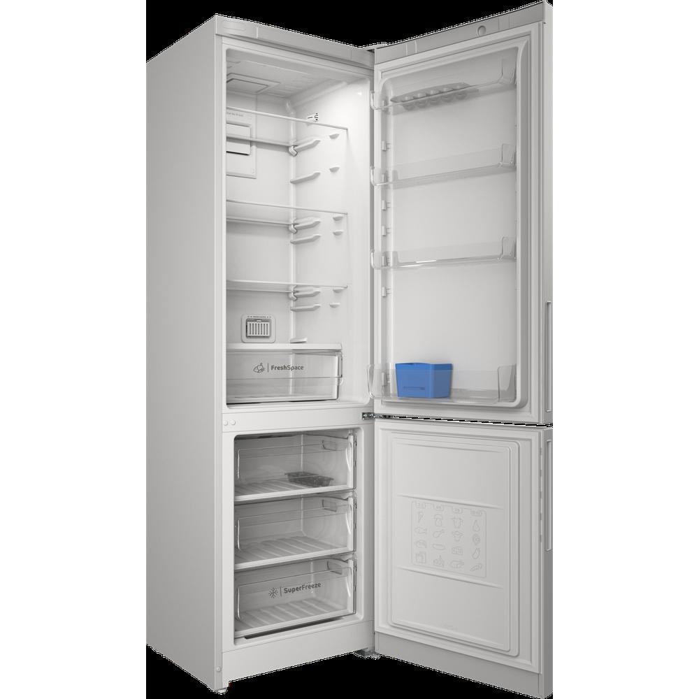 Indesit Холодильник с морозильной камерой Отдельностоящий ITR 5200 W Белый 2 doors Perspective open