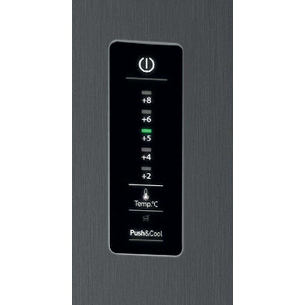 Indesit Холодильник с морозильной камерой Отдельностоящий ITF 120 X Inox 2 doors Control_Panel