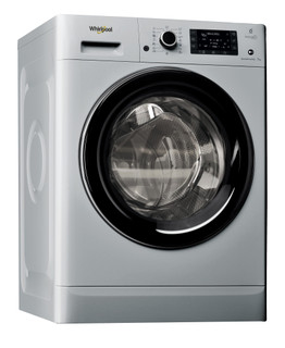 Свободностояща пералня с предно зареждане Whirlpool: 7 кг - FWD71284SB EE