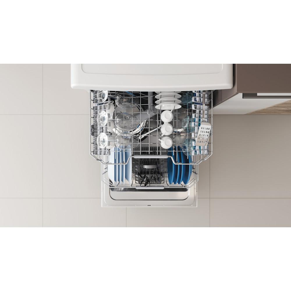 Indesit Dishwasher Free-standing DFC 2C24 UK Free-standing E Rack