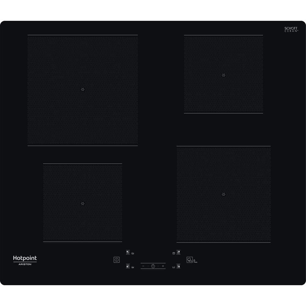 Hotpoint_Ariston Piano cottura HQ 2960S NE Nero Induction vitroceramic Frontal