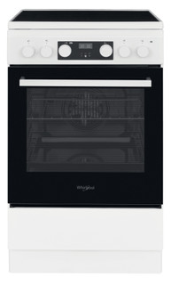 Whirlpool Stand-Herde: 50cm - WS5V8CCW/E