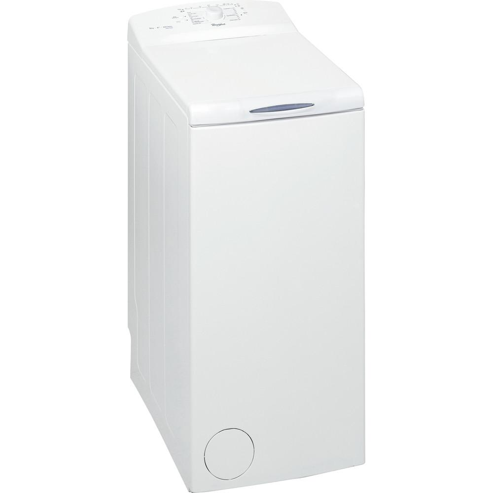 Whirlpool toppmatad tvättmaskin: 5 kg - AWE 5080