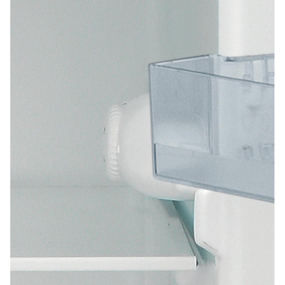 Indesit Combiné réfrigérateur congélateur Pose-libre I55TM 4120 S CH 2 Argent 2 portes Control panel
