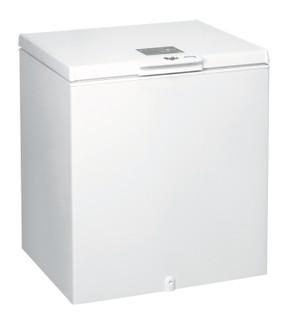 Fritstående Whirlpool-kummefryser: hvid farve - WH2011 A+E