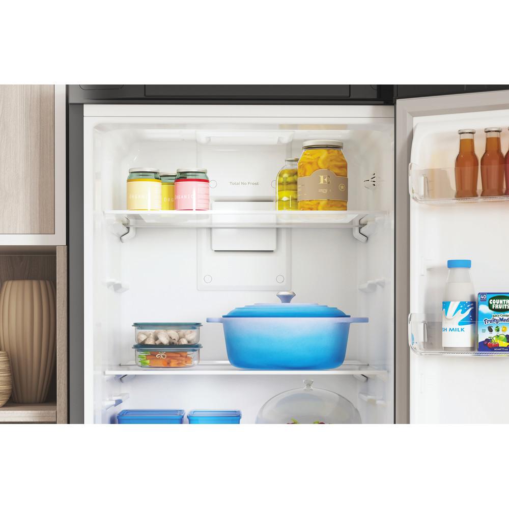 Indesit Холодильник с морозильной камерой Отдельностоящий ITS 5180 X Inox 2 doors Drawer