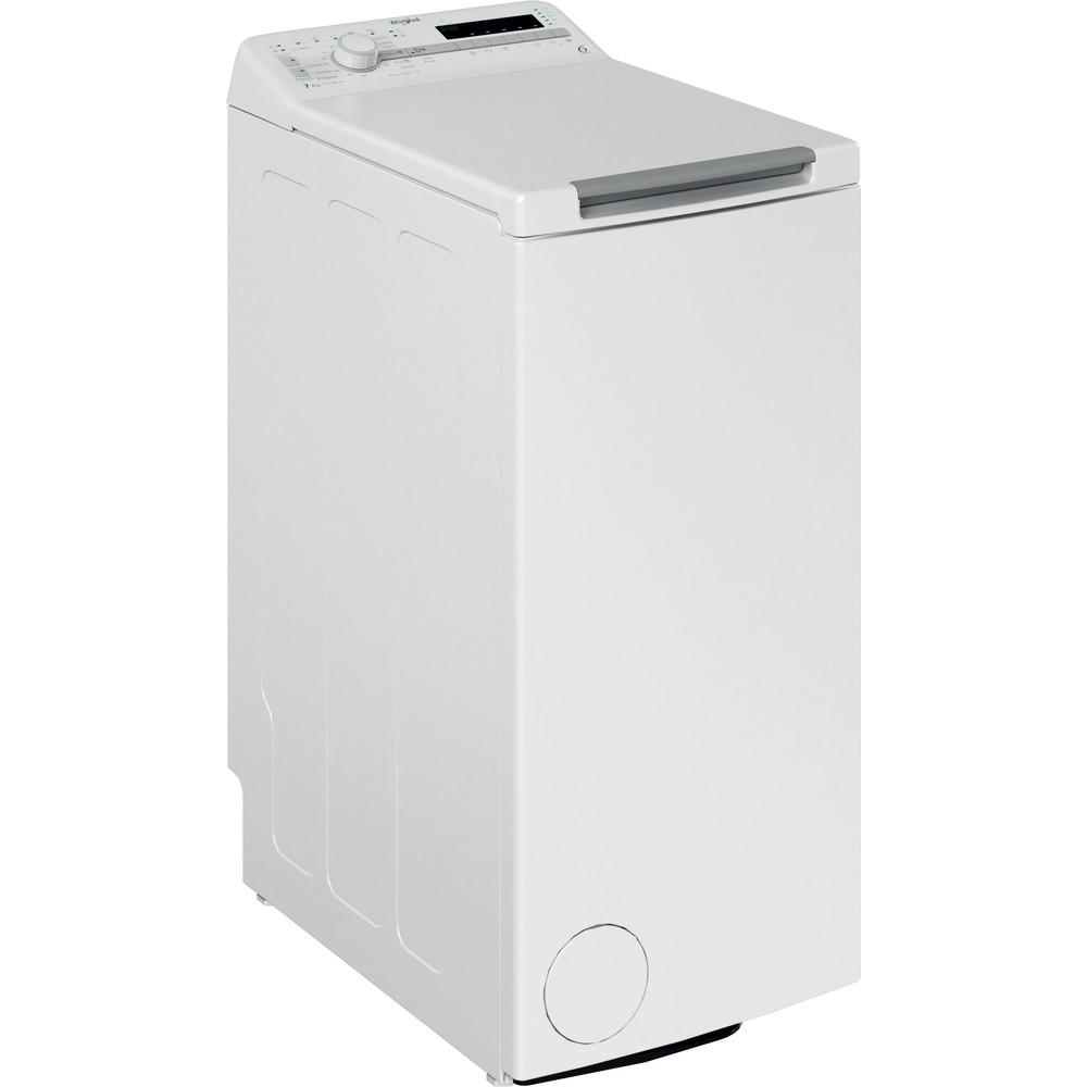 Whirlpool toppmatad tvättmaskin: 7 kg - TDLR 7220SS EU/N