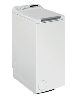 Päältä täytettävä vapaasti sijoitettava Whirlpool pyykinpesukone: 7 kg - TDLR 7220SS EU/N