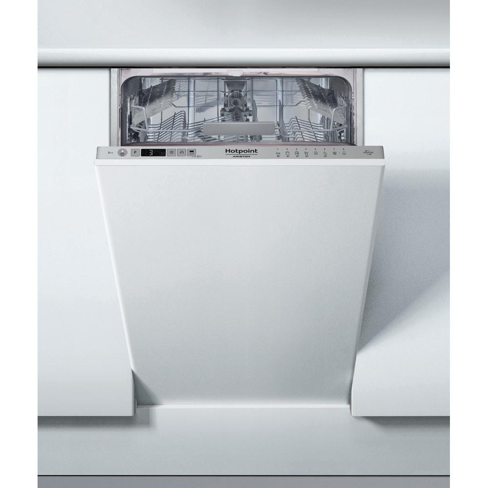 Hotpoint_Ariston Посудомоечная машина Встраиваемая HSIC 3T127 Full-integrated A Frontal