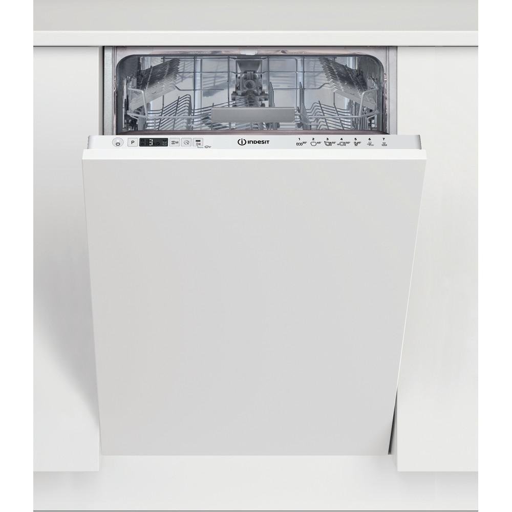 Indesit Lave-vaisselle Encastrable DSIC 3M19 Tout intégrable F Frontal