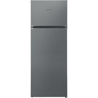 Indesit Combinazione Frigorifero/Congelatore A libera installazione I55TM 4110 X Inox 2 porte Frontal