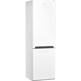 Indesit Комбиниран хладилник с камера Свободностоящи LI7 S1 W Бял 2 врати Perspective