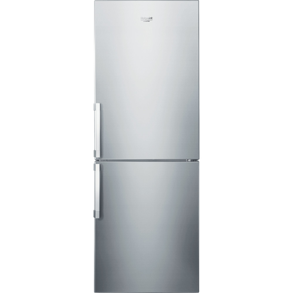 Hotpoint_Ariston Комбиниран хладилник с фризер Свободностоящ HA70BI 31 S Ново Alu 2011 2 врати Frontal