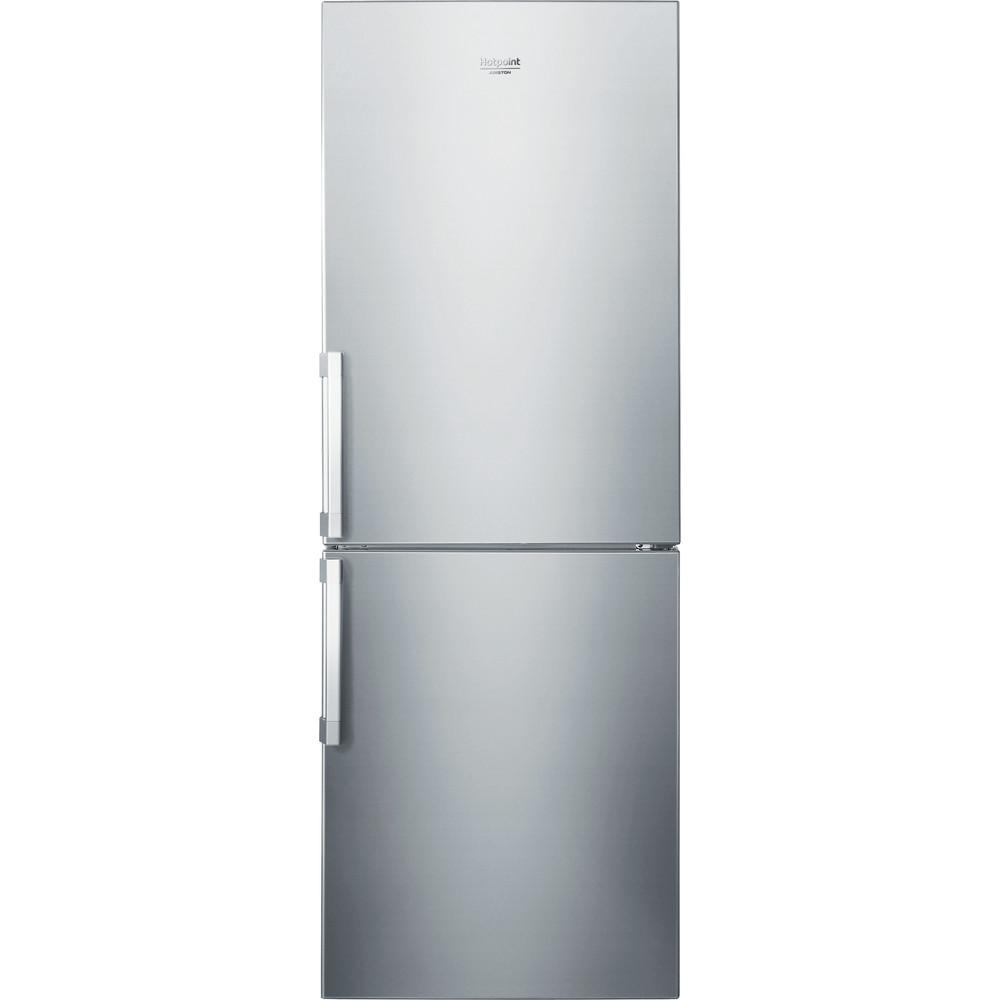 Hotpoint_Ariston Combinazione Frigorifero/Congelatore Libera installazione HA70BI 31 S New Alu 2011 2 porte Frontal
