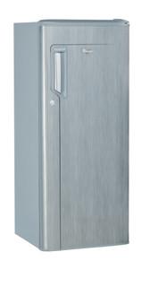 Whirlpool freestanding fridge: silver color - WMD 240