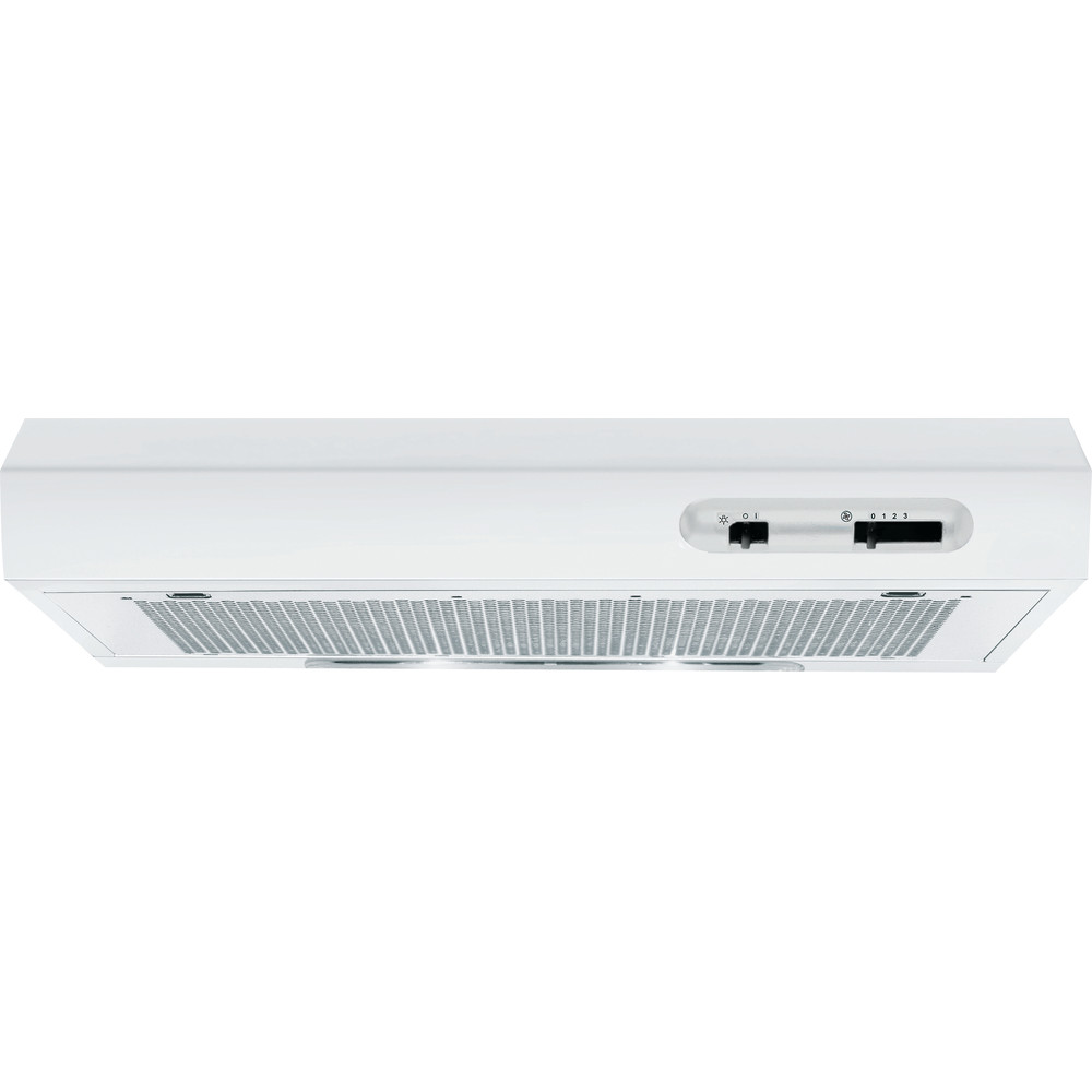 Indesit HOOD Built-in ISLK 66F LS W White Free-standing Mechanical Frontal
