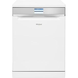 Whirlpool dishwasher: white color, full size - WFF 4O33 DLTG @ UK