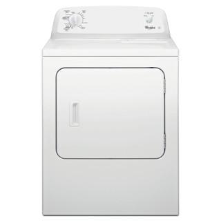 Whirlpool air-vented tumble dryer: freestanding, 10.5kg - 4KWED4605FW
