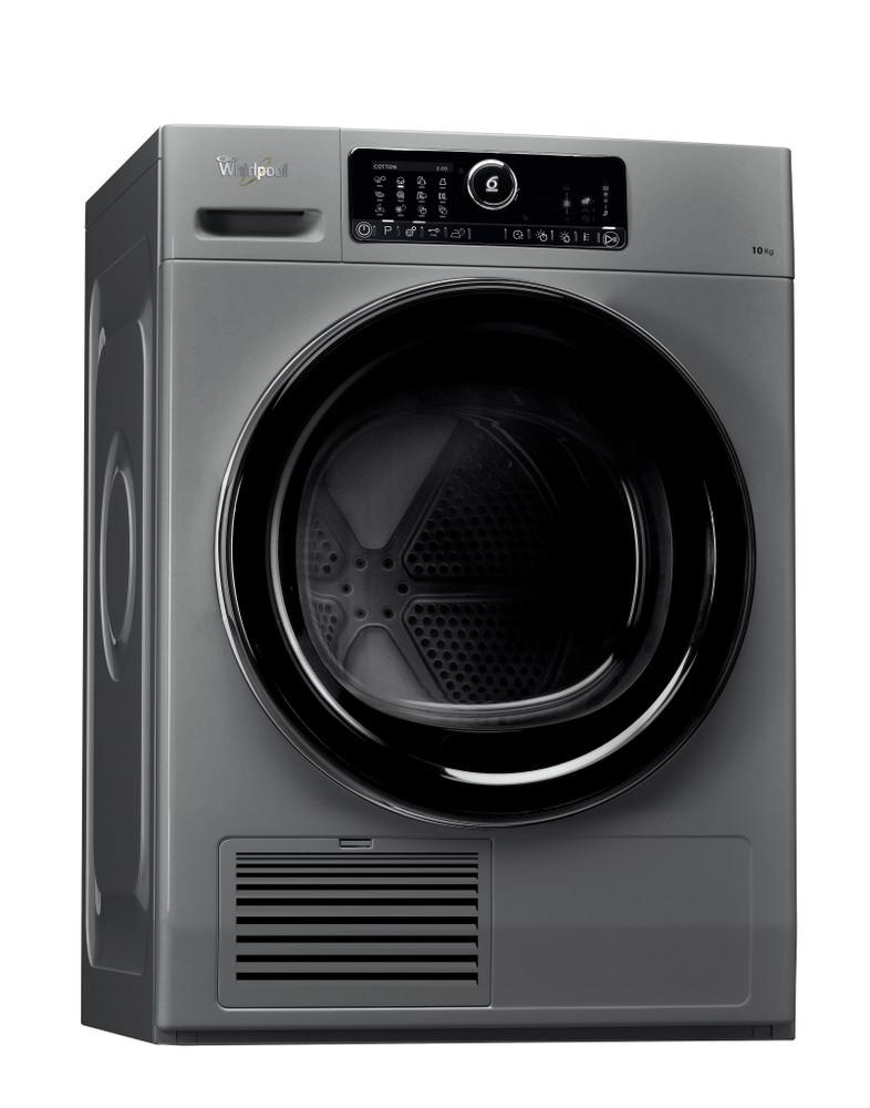 Whirlpool Dryer DSCX 10120 Silver Perspective