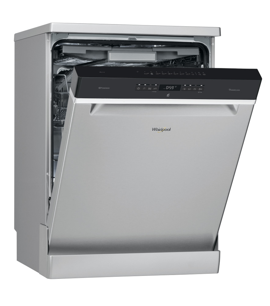 Whirlpool Dishwasher Free-standing WFO 3P33 DL X UK Free-standing A+++ Perspective