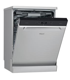 Máquina de lavar loiça da Whirlpool: cor inox, tamanho grande - WFO 3O33 DL X