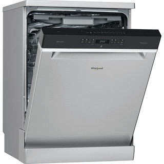 Whirlpool dishwasher: inox color, full size - WFO 3P33 DL X UK