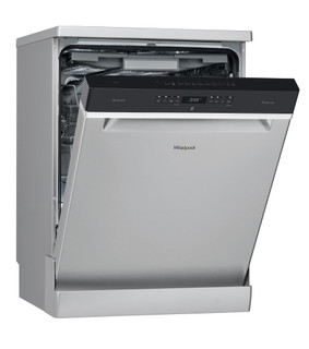 Whirlpool dishwasher: inox colour, full size - WFO 3T133 DF X SA