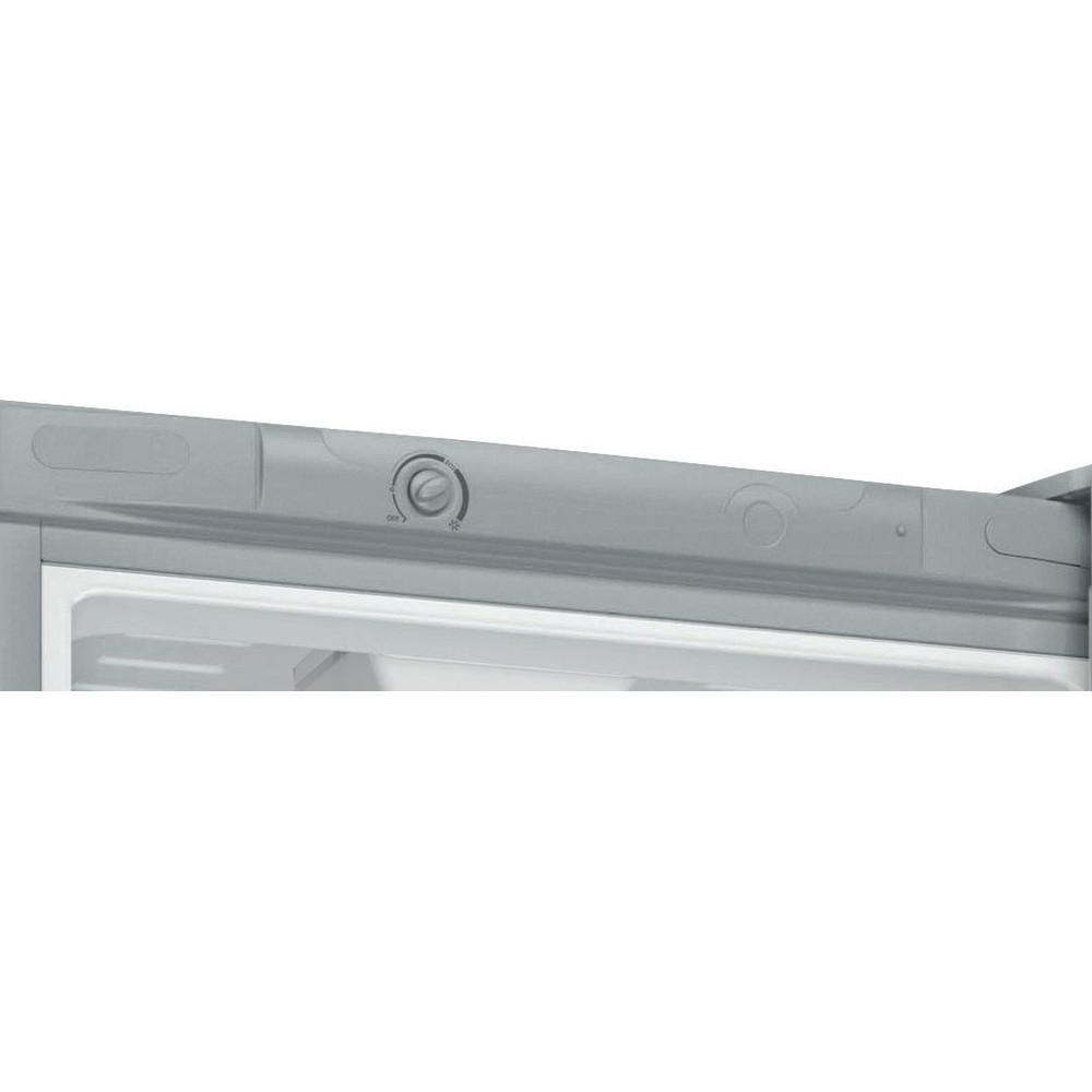 Indesit Холодильник с морозильной камерой Отдельностоящий DS 4200 SB Серебристый 2 doors Control panel