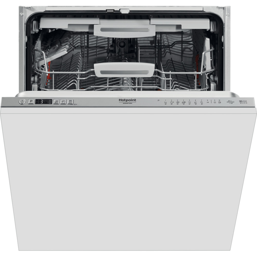 Hotpoint_Ariston Nõudepesumasin Integreeritav HIC 3O33 WLEG Full-integrated A+++ Frontal