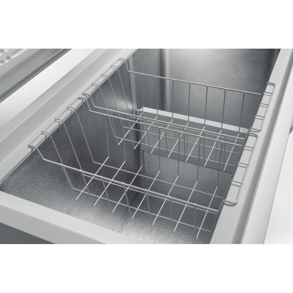 Indesit Congelatore A libera installazione OS 1A 250 2 Bianco Drawer