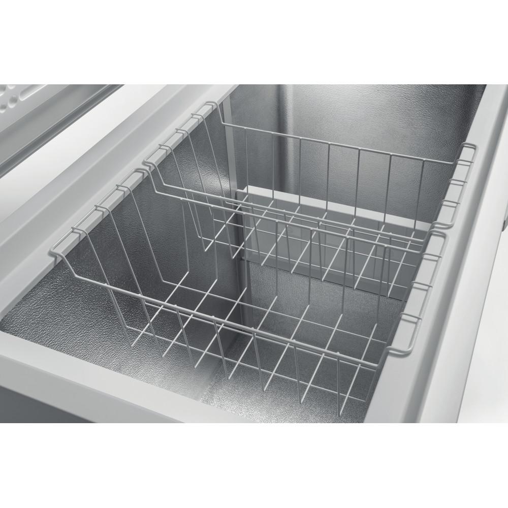 Indesit Fryser Frittstående OS 1A 300 H 2 Hvit Drawer