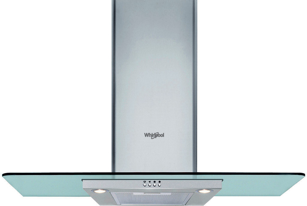 Whirlpool Hotte Encastrable WHF 96 AM X Inox Mural Mécanique Frontal