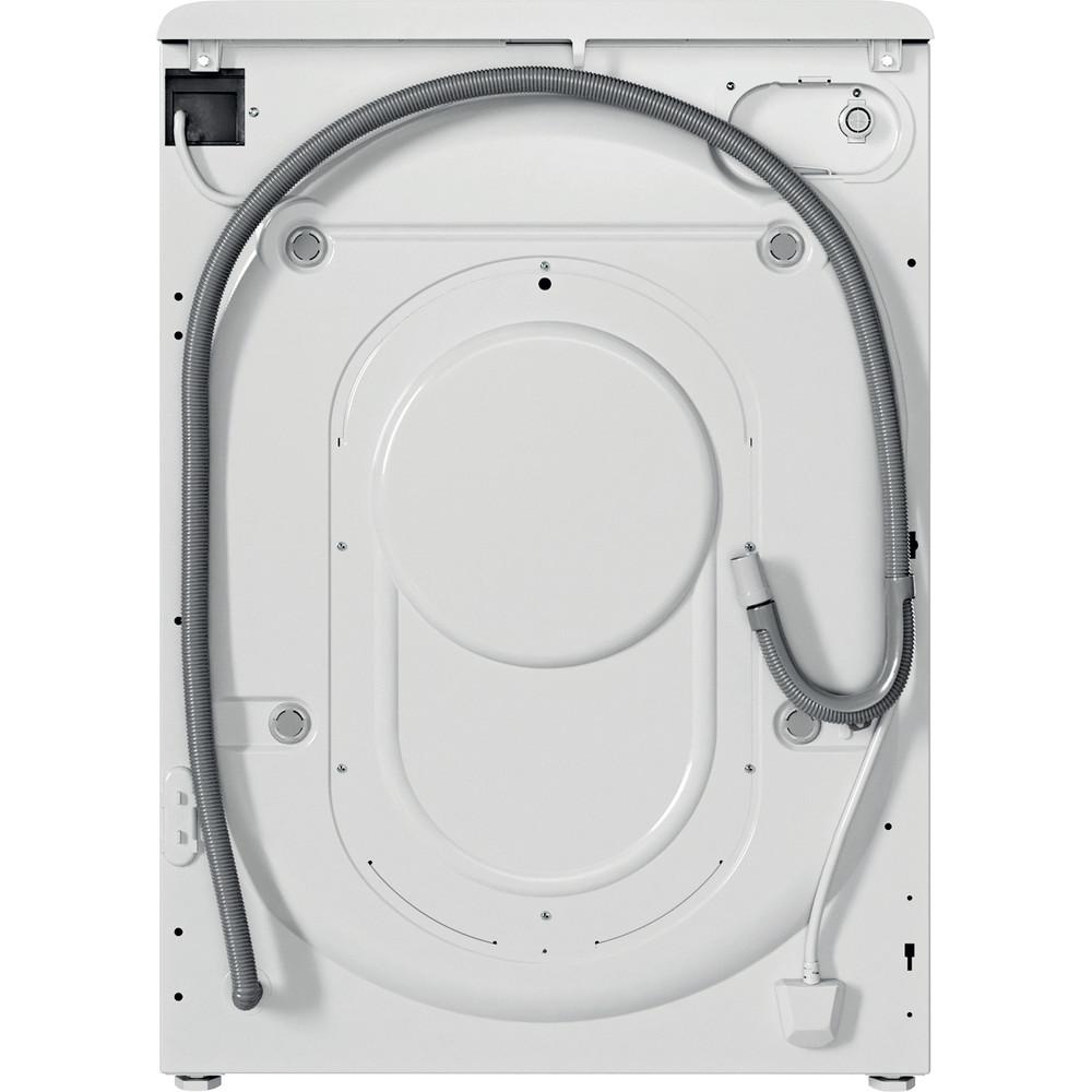 Indesit Πλυντήριο-στεγνωτήριο Ελεύθερο BDE 1071682X WS EE N Λευκό Front loader Back / Lateral
