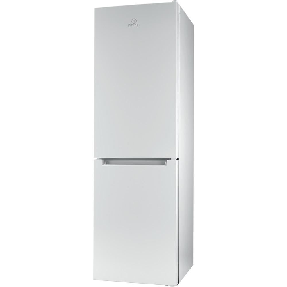 Indesit Комбиниран хладилник с камера Свободностоящи LI8 S1E W Глобално бяло 2 врати Perspective