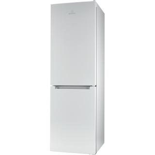 Indesit Kombinerat kylskåp/frys Fristående LI8 S1E W Global white 2 doors Perspective