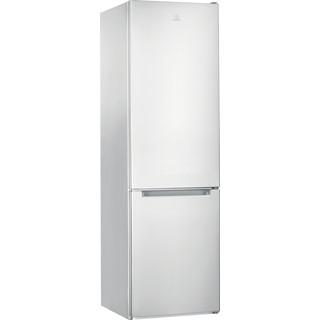 Indesit Combinación de frigorífico / congelador Libre instalación LI9 S2E W Blanco global 2 doors Perspective