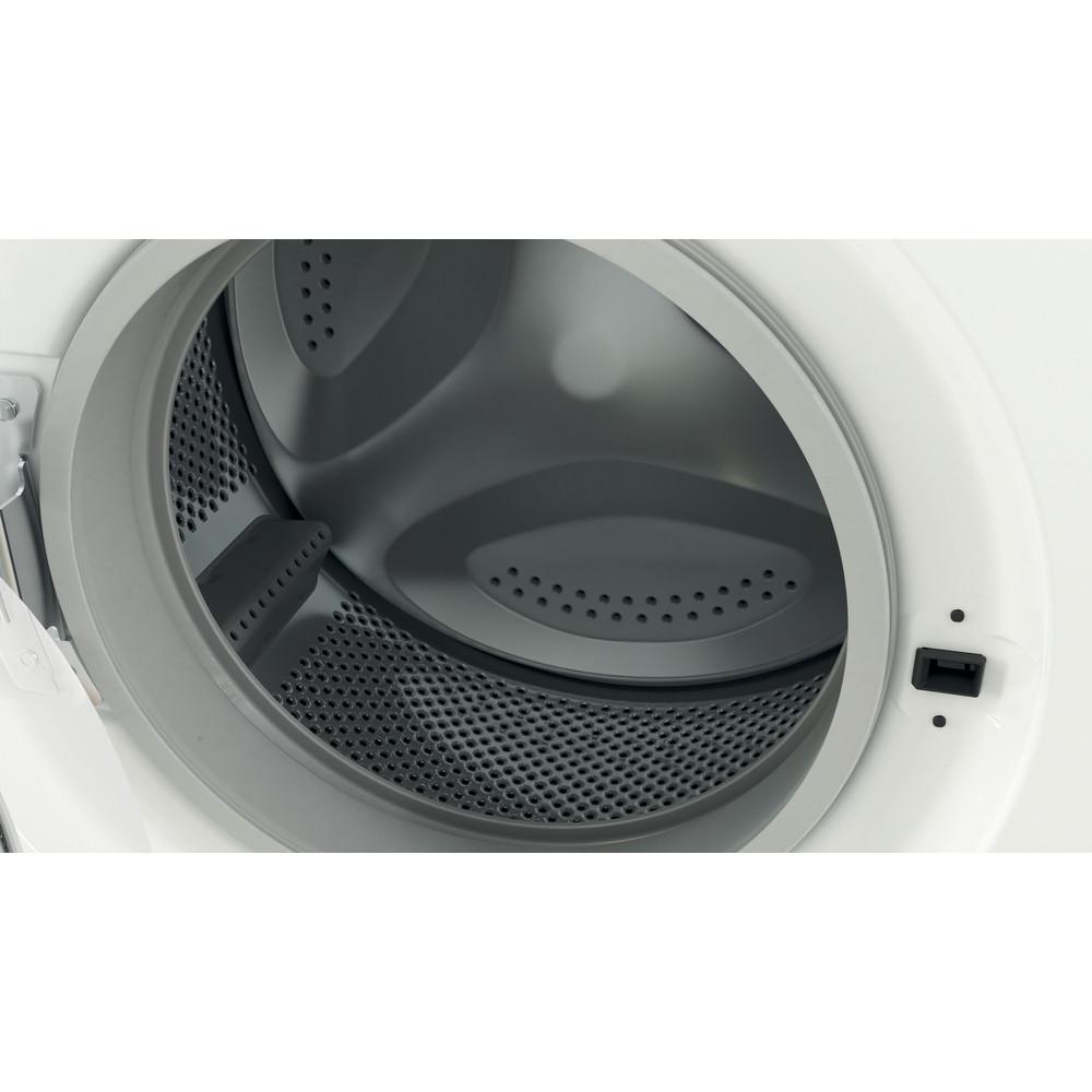 Indesit Wasmachine Vrijstaand EWC 51451 W EU N Wit Voorlader F Drum