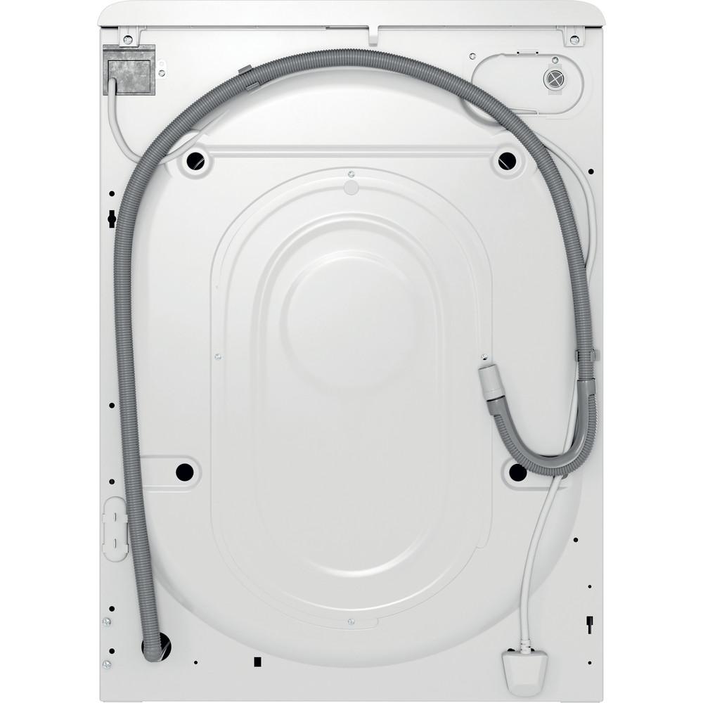 Indsit Maşină de spălat rufe Independent MTWE 71252 WK EE Alb Încărcare frontală A +++ Back / Lateral