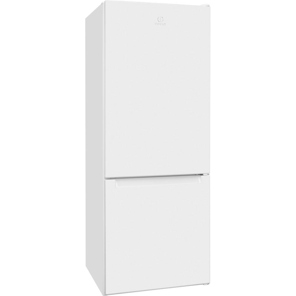 Indesit Холодильник с морозильной камерой Отдельно стоящий LR6 S1 W Белый 2 doors Perspective