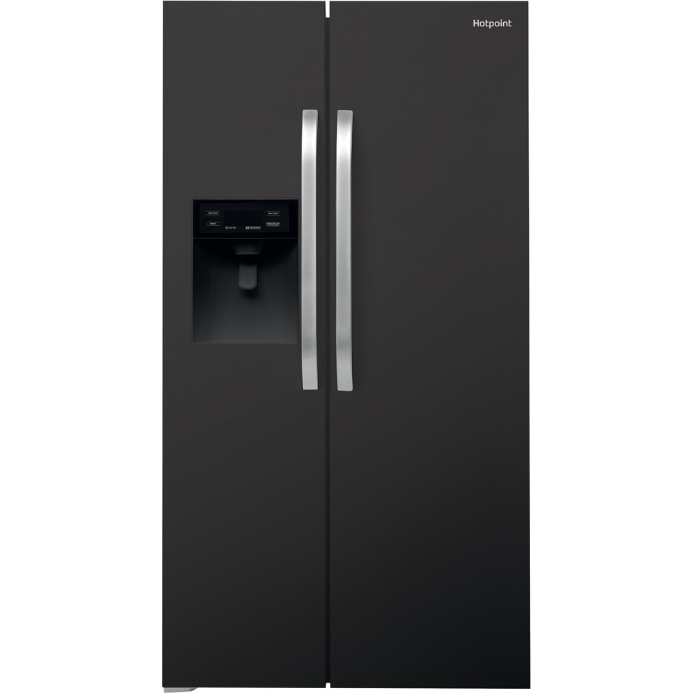 Hotpoint Side-by-Side Free-standing SXBHE 925 WD (UK) 1 Mirror/black Frontal