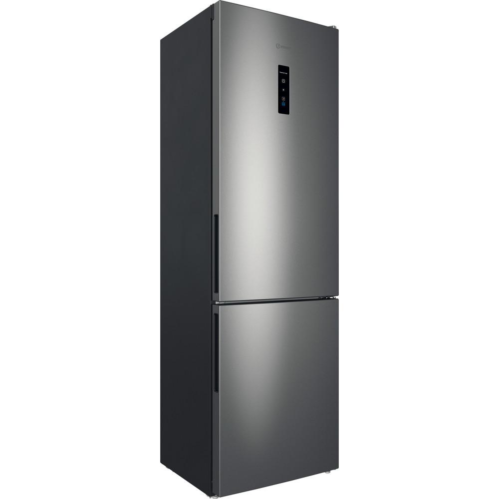 Indesit Холодильник с морозильной камерой Отдельностоящий ITD 5200 S Серебристый 2 doors Perspective