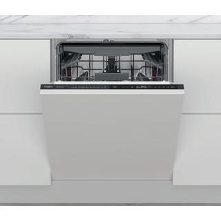 Whirlpool integrert oppvaskmaskin: farge svart, 60 cm - WIP 4T133 PFE