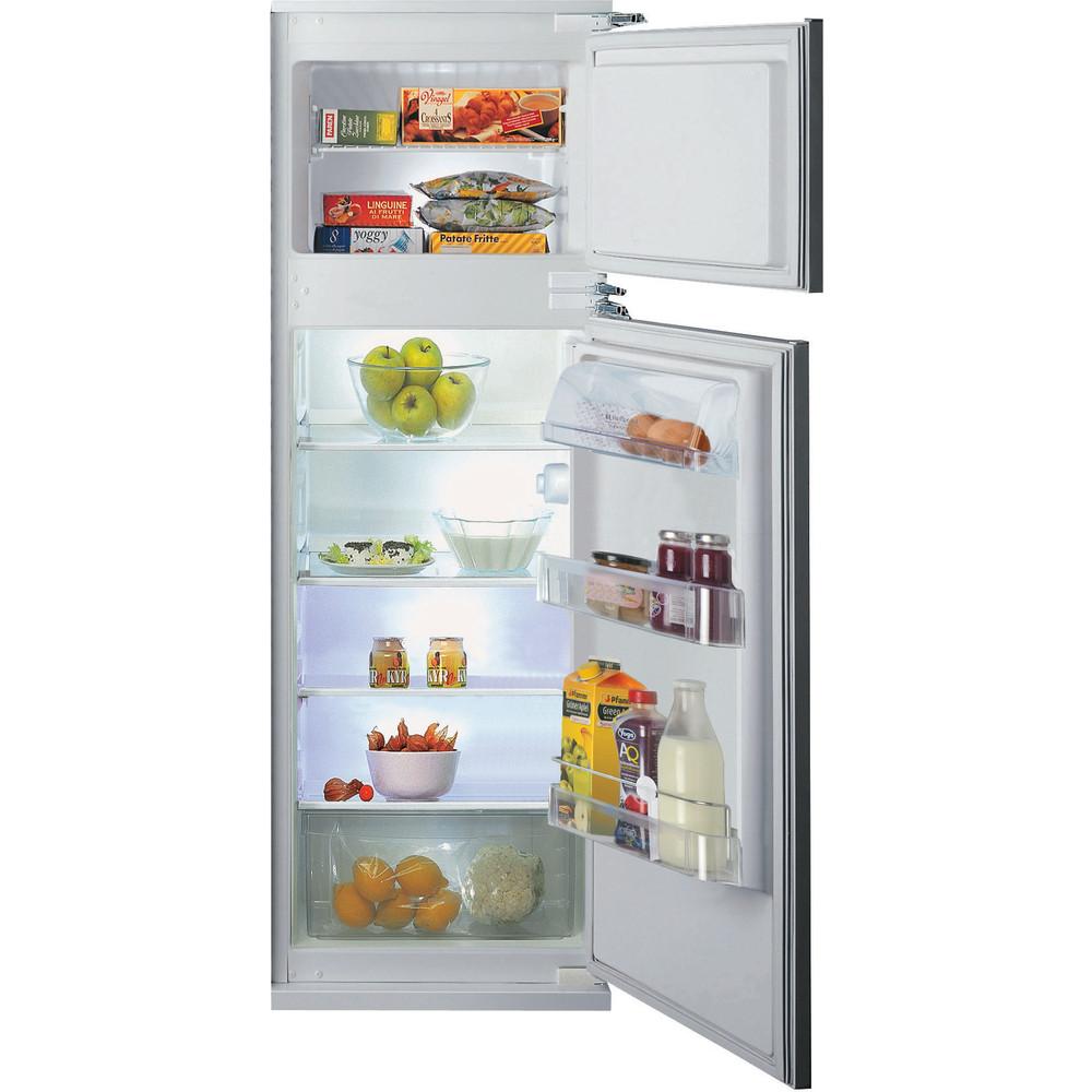 Hotpoint_Ariston Combinazione Frigorifero/Congelatore Da incasso BD 2622/HA Bianco 2 porte Frontal open