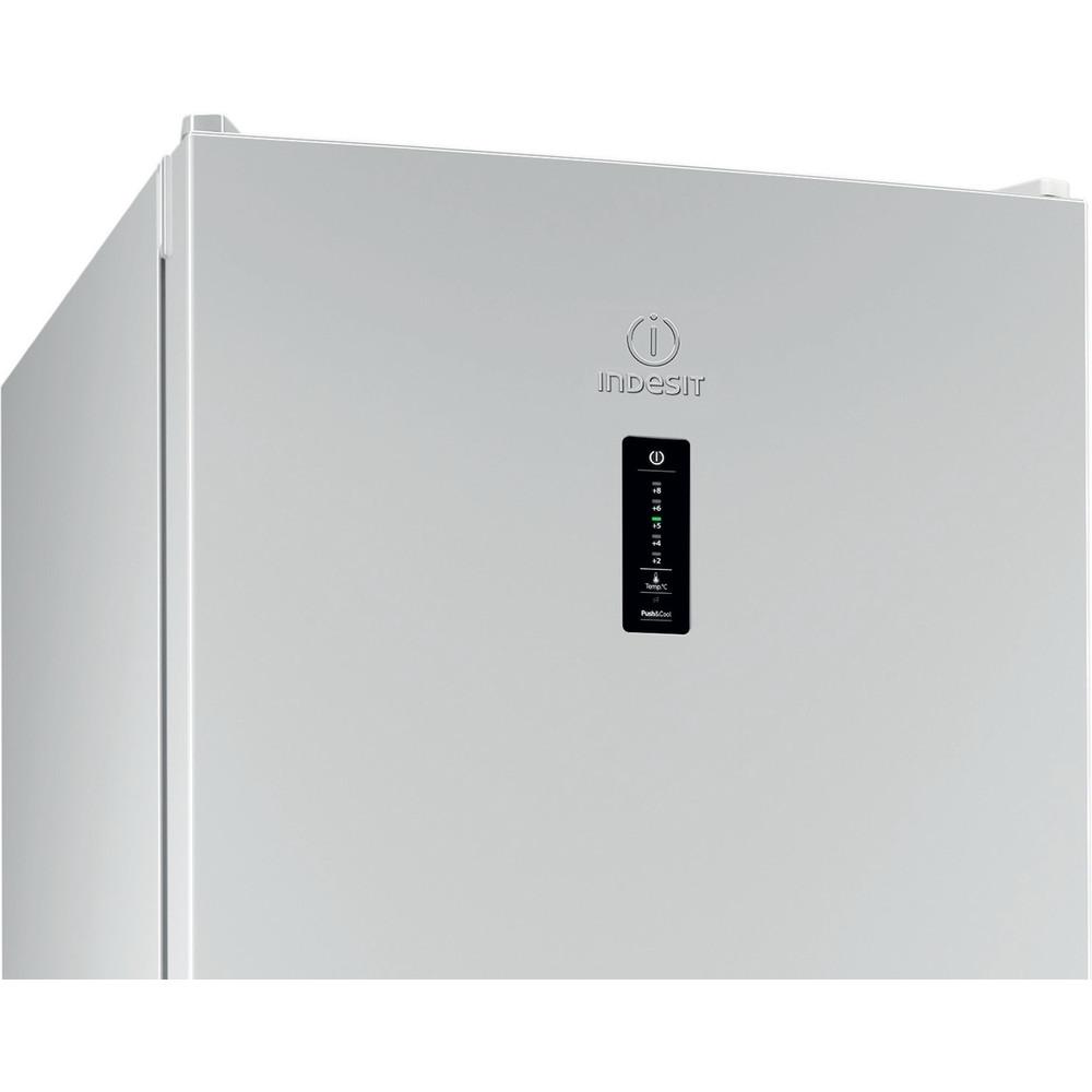 Indesit Холодильник с морозильной камерой Отдельностоящий DFN 18 D Белый 2 doors Control_Panel