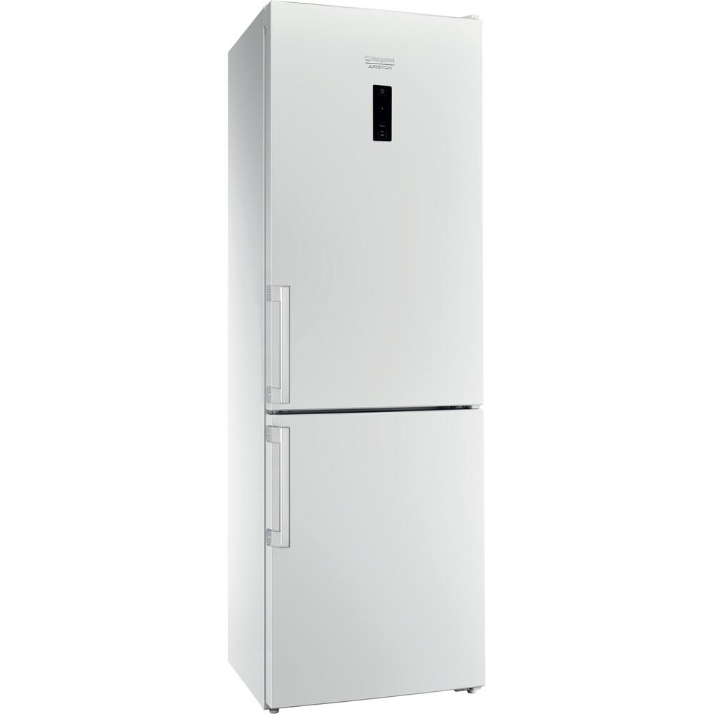 Hotpoint_Ariston Комбинированные холодильники Отдельностоящий HS 5181 W Белый 2 doors Perspective