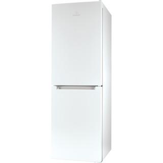 Indesit Külmik-sügavkülmik Eraldiseisev LI7 SN1E W Valge 2 doors Perspective
