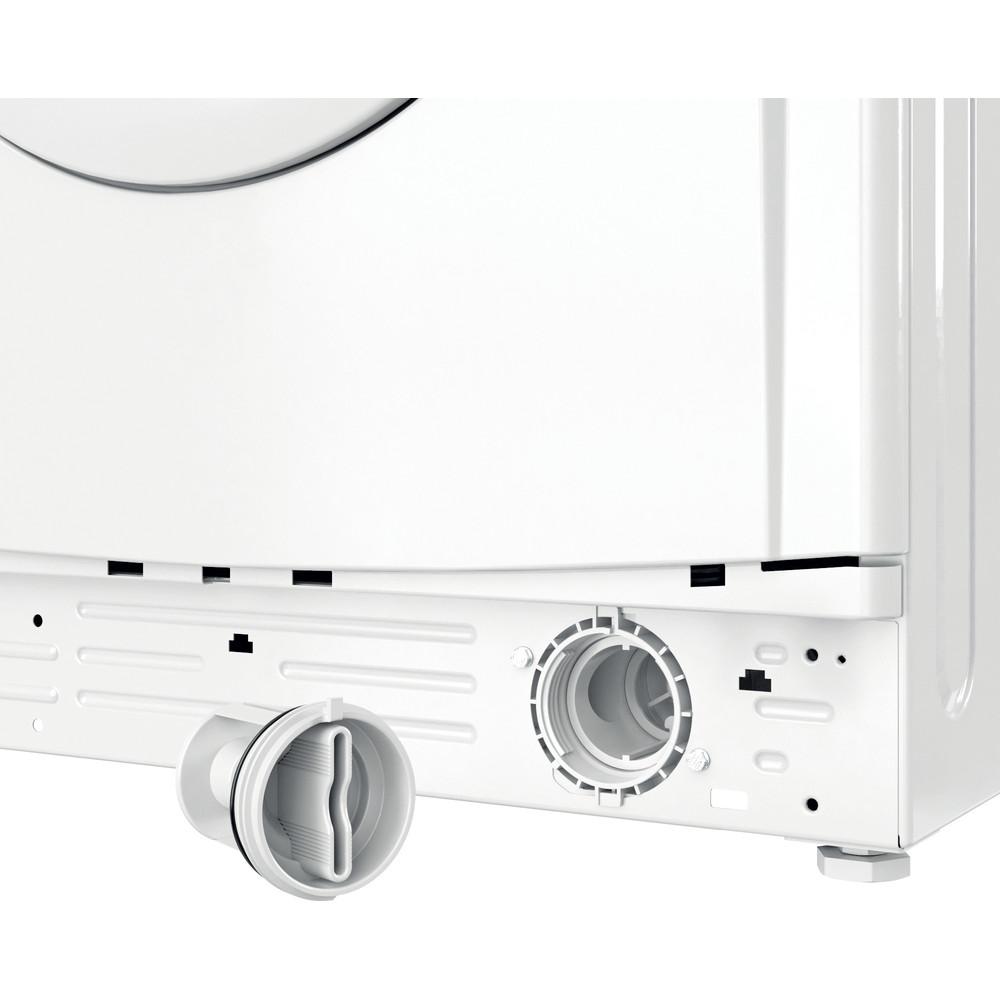 Indesit Washer dryer Free-standing IWDD 75125 UK N White Front loader Filter
